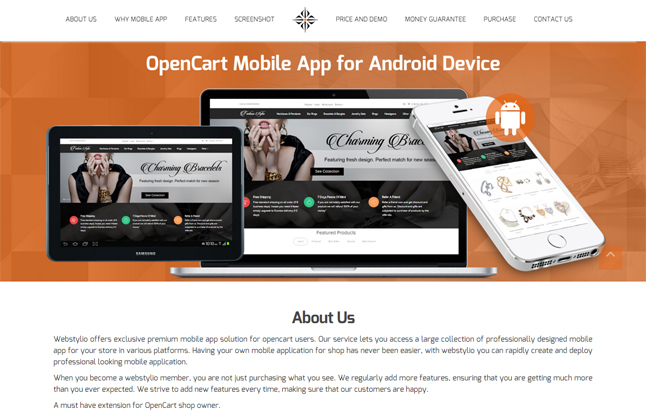 Opencart Mobile App Nulled